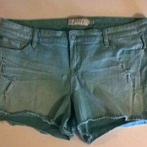 torrid shorts size 18 blue